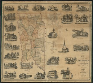 Map of New Milford, Litchfield Co., Conn