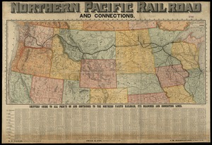 Northern Pacific Rail Road and connections
