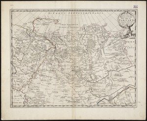 To the Great Czar of Moscovie this Map of Tartary &c. is humbly dedicated