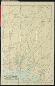 Map of Greenwich, township and borough, Fairfield County, Connecticut