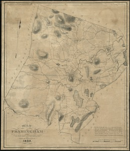 Map of Framingham