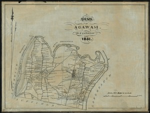 A plan of Agawam