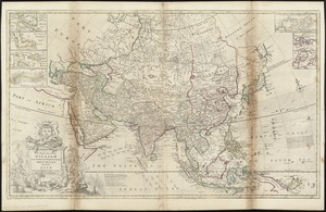 To the Right Honourable William, Lord Cowper, Lord High Chancellor of Great Britain, this map of Asia