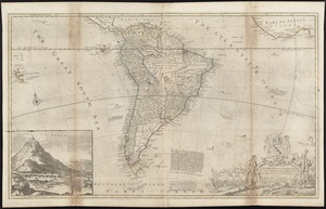 To the Right Honourable, Charles Earl of Sunderland, and Baron Spencer of Wormleighton, one of Her Majesty's principal secretaries of state, &c., this map of South America according to the newest and most exact observations is most humbly dedicated by your Lordship's most humble servant