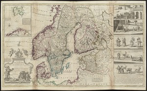 A new map of Denmark and Sweden