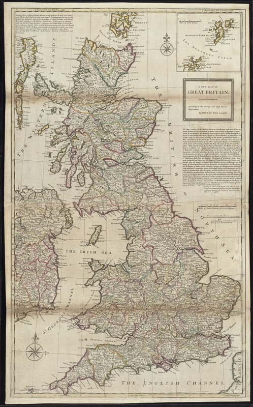 A new map of Great Britain