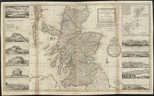 The north part of Great Britain called Scotland