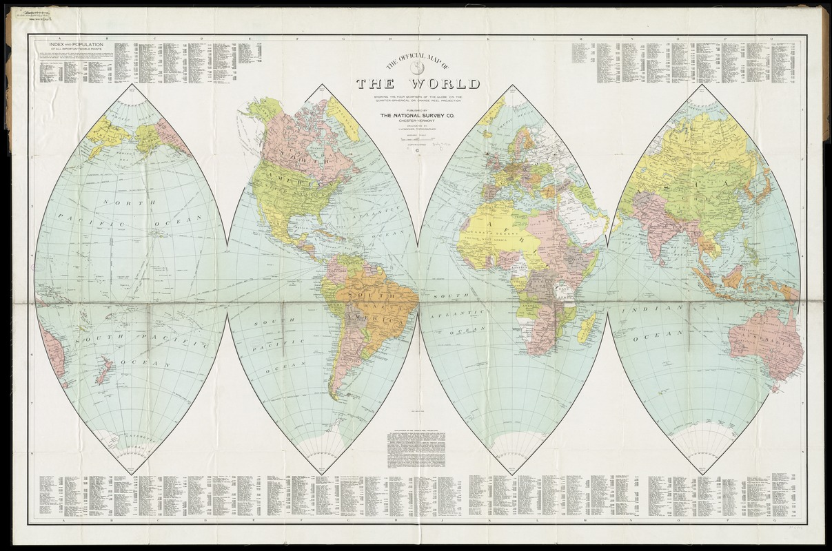 1892 Map Of The World.Gleason S New Standard Map Of The World Digital Commonwealth