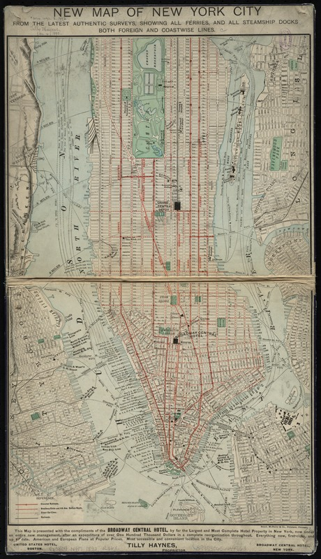 New map of New York City
