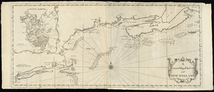 A correct map of the coast of New England