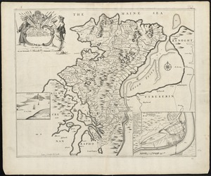 A true survey of The Earl of Donagals barronie of Enish Owen containing the two adjacent harbours of Lough Foile and Lough Suillie ye Isle of Inche Culmore and Londonderry
