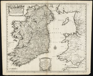 An epitome of Sr. William Petty's large survey of Ireland divided into its 4 provinces & 32 counties ... and bridges