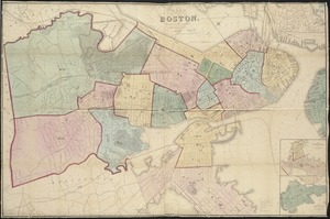 Plan of Boston, with additions and corrections