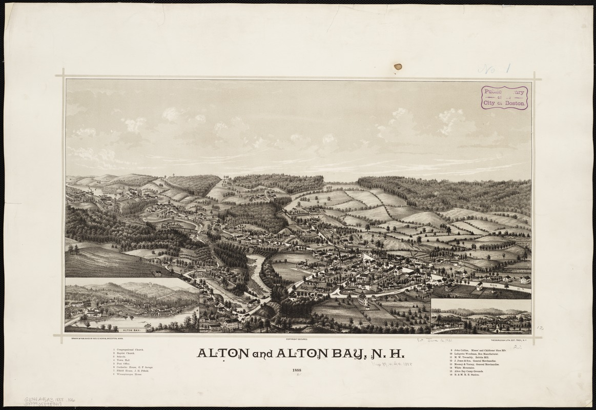 Alton and Alton Bay, N.H