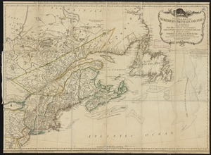 A general map of the northern British Colonies in America