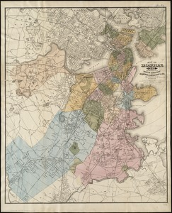 Map of Boston, for 1881