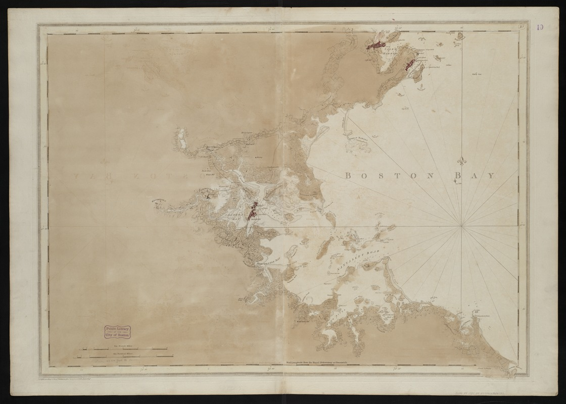[A chart of Boston Bay and vicinity]