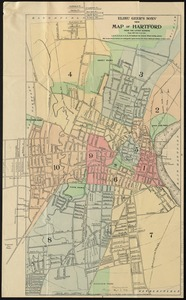 Elihu Geer's sons' new map of Hartford from the latest surveys