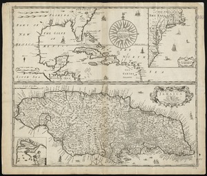 A generall mapp of the continent and islands which bee adjacent to Jamaica