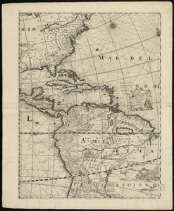A new map containing the English Empire Golf of Mexico Caribes Islands Granada Guiana Amazone and Peru