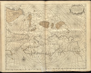 A chart of the iland of Hispaniola