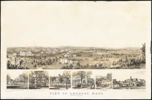 View of Amherst, Mass