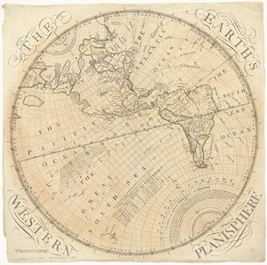 The Earth's Western planisphere
