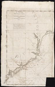Chart of the coast of America from Cape Fear to Helens Sound