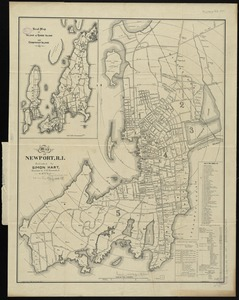 Map of Newport, R.I