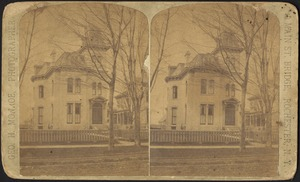 Unidentified Victorian-style house