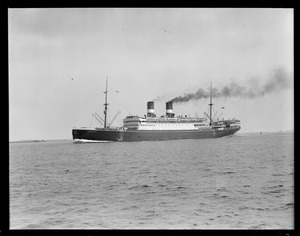 SS President Wilson , Boston Harbor