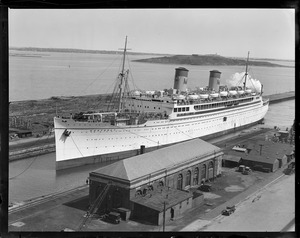 SS Monterey dry docking in South Boston