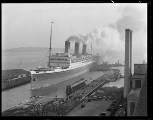 SS Majestic - South Boston drydock
