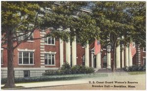 U. S. Coast Guard Women's Reserve, Brandon Hall -- Brookline, Mass