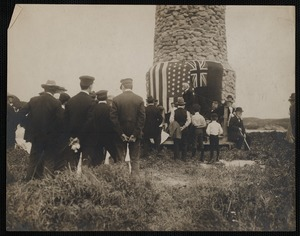 Dedication of Gosnold Monument