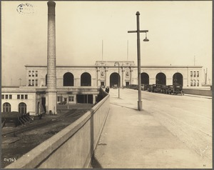 Commonwealth Pier, South Boston, October 31, 1927