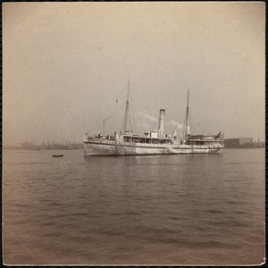 "Hospital ship ""Bay State"" of the Mass. Volunteer Aid Association"