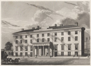 View of Tremont House, Boston