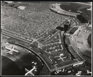 Logan International Airport, Boston Massachusetts. Day before construction started for double deck