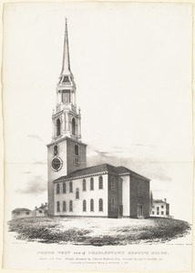 North west view of Charlestown Meeting House