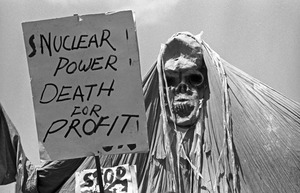 Anti-nuclear power demonstration, Kendall Square, Cambridge