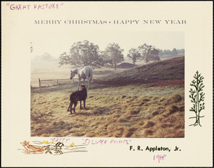 Merry Christmas. Happy New Year. F. R. Appleton, Jr.