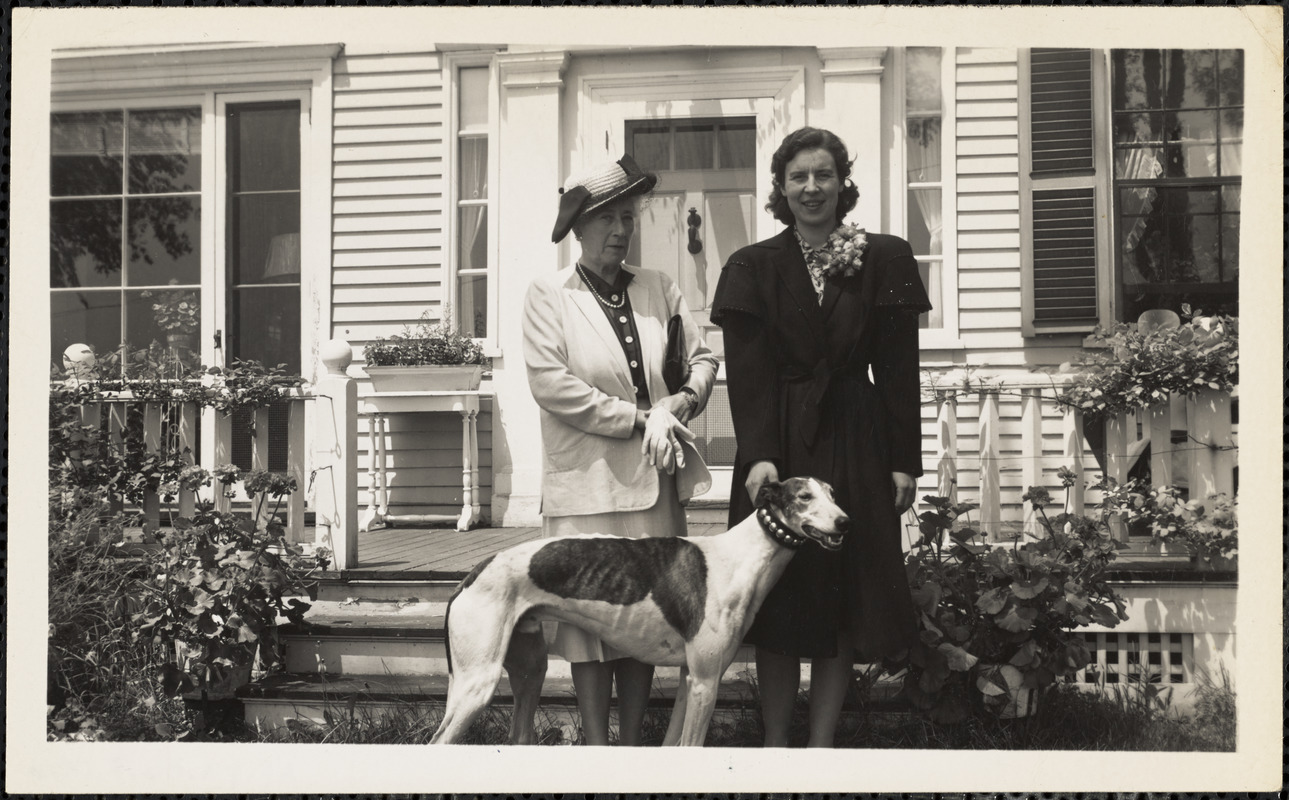 Lady Vernon, 1947, + JEA. Old House Appleton Farms