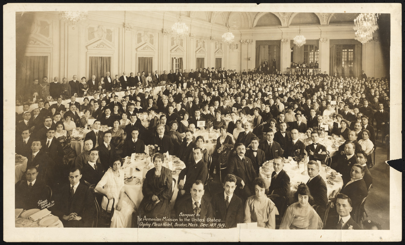 Banquet to the Armenian Mission to the United States