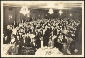 Testimonial dinner in honor of Franz Werfel, sponsored by the Prelacy of the Armenian Church in America