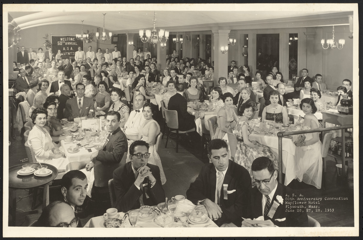 A. S. A. (Armenian Students Association) 50th anniversary convention