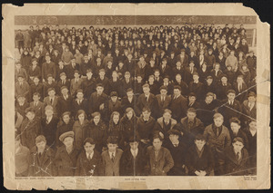 Students at East Junior High School, Watertown, Massachusetts