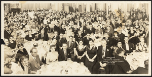 Dinner dance of the building committee, St. Sahag - St. Mesrob Church
