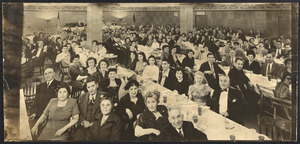 Banquet, unidentified group