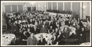 Fortieth anniversary banquet, Armenian General Benevolent Union (AGBU) Central Committee of America